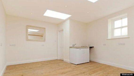 Converted Garage On Sale As £250,000 Highgate Village 'One-Bedroom