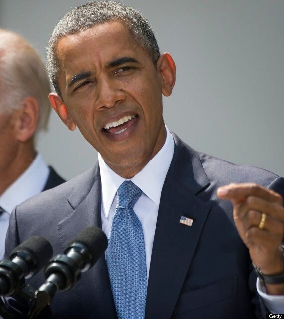 President Obama Announces Decision To Take Military Action Against