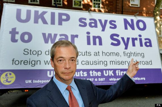 Farage Says 'Ukip Effect' Responsible For Government's Defeat In Commons Vote On