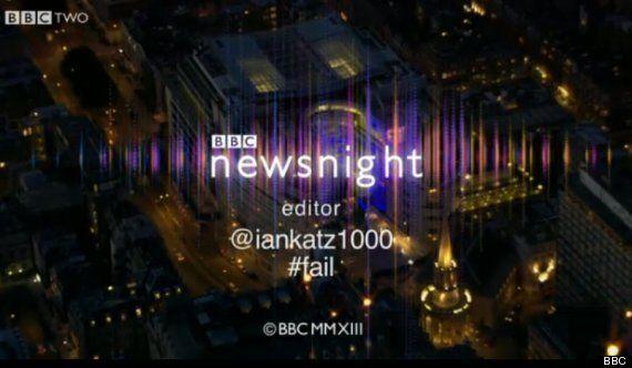 Newsnight Acknowledges Ian Katz Twitter Gaffe In