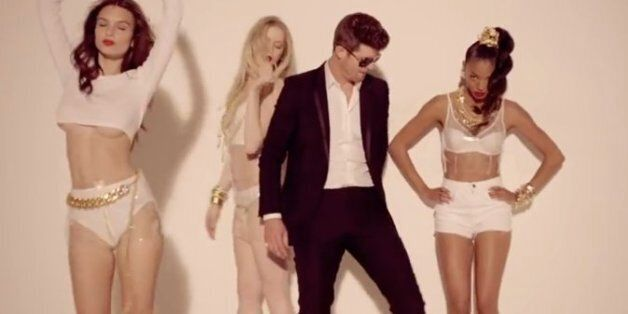 Robin Thicke's Blurred Lines Banned From Edinburgh University Student