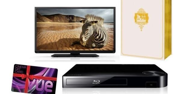 COMPETITION: Win A HD-Ready TV, Blu-Ray Player, 'The Godfather' Boxset And Cinema Vouchers With Ladbrokes