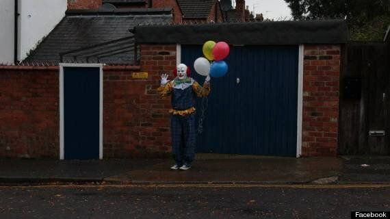 Northampton Clown Baffles Some Residents And Terrifies