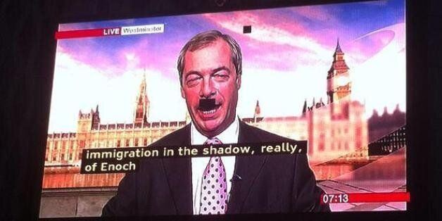 Farage's pixel