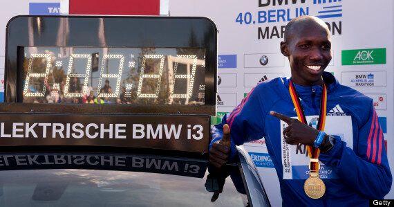 Wilson Kipsang Sets Marathon Record In Berlin