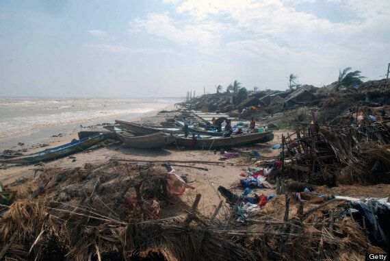 Cyclone Phailin Relief Operation Begins In India As David Cameron Pledges Support From