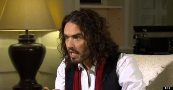 Russell Brand Takes On Jeremy Paxman (Plus Beard) On BBC's Newsnight