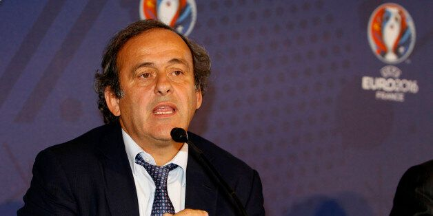MARSEILLE, FRANCE - OCTOBER 17: UEFA president Michel Platini during the EURO 2016 Steering Committee...