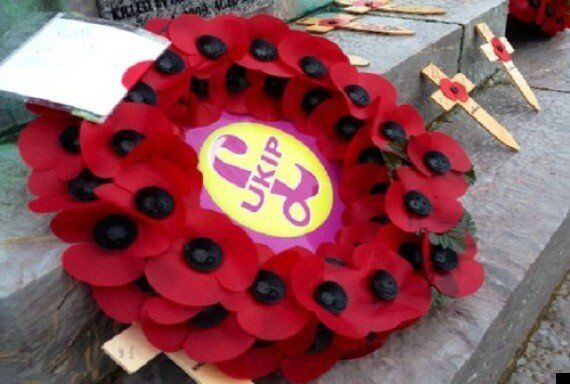 Ukip's Poppy Wreath Sparks Row, Party Accused Of 'Hijacking' Remembrance
