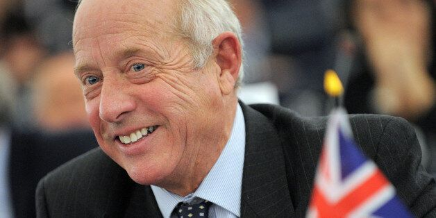 Britain's United Kingdom Independence Party (UKIP) and member of the European Parliament Godfrey Bloom...