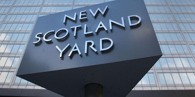 New Scotland Yard, the headquarters of the Metropolitian Police in