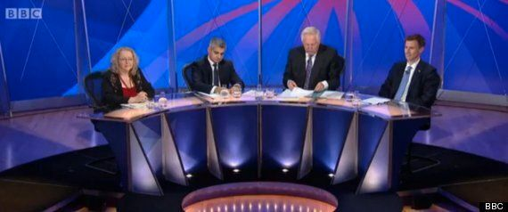 Question Time Panel Decimated As Just Three People Turn Up For BBC Show