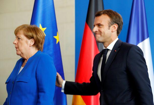 Angela Merkel et Emmanuel Macron sont en conflit pour désigner le futur président de la...