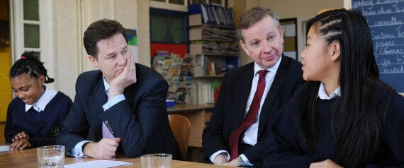 Free School Meals Row Erupts, Nick Clegg's Team Says Michael Gove's Department Is 'Talking