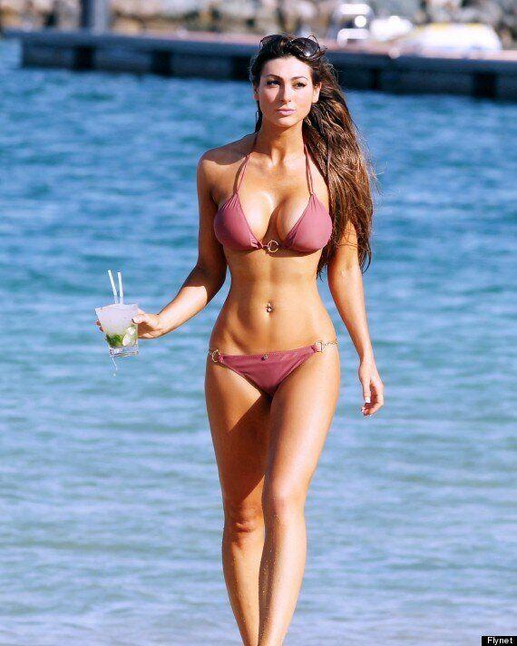 Luisa Zissman Hits Dubai Beach In Bikini As She Proclaims: 'I'd Rather Be Skinny Than A Role Model'