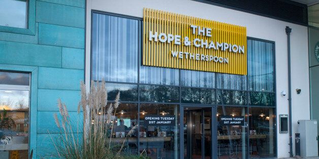 A Wetherspoons Pub Is Opening At A Motorway Services, Drivers