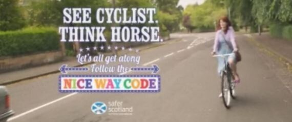 Cycle Safety Advert Banned Because Rider Was Not Wearing A Helmet