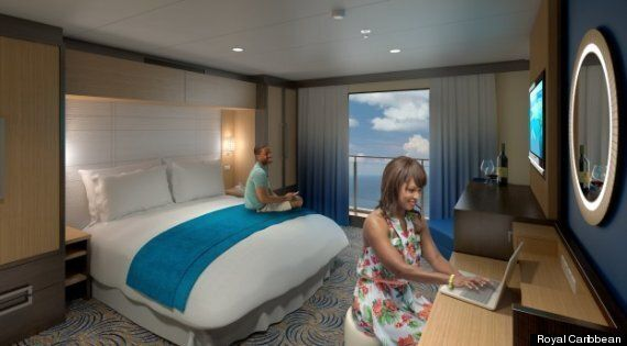 The 'Sea View' Windows On This Cruise Ship Are Actually TV