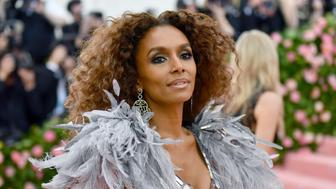 "Janet Mock attends The Metropolitan Museum of Art's Costume Institute benefit gala celebrating the opening of the ""Camp: Notes on Fashion"" exhibition on Monday, May 6, 2019, in New York. (Photo by Charles Sykes/Invision/AP)"