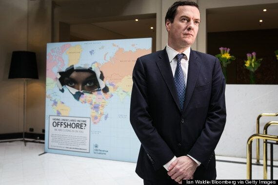 Is This The Creepiest Photograph Of George Osborne Ever?