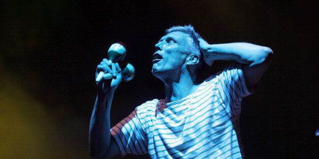 CHELMSFORD, UNITED KINGDOM - AUGUST 19: Bez of The Happy Mondays performs live on day 2 of V Festival...