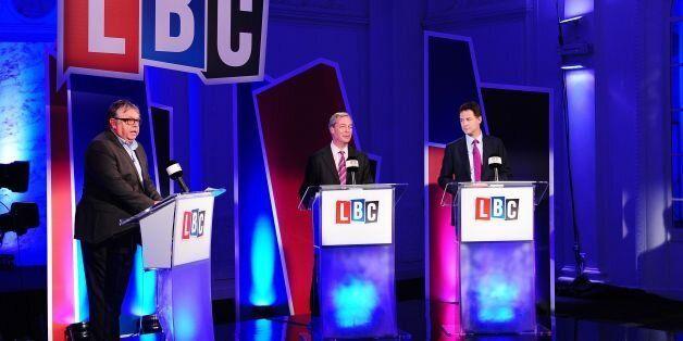 Nigel Farage Declared Winner Of LBC Debate With Nick