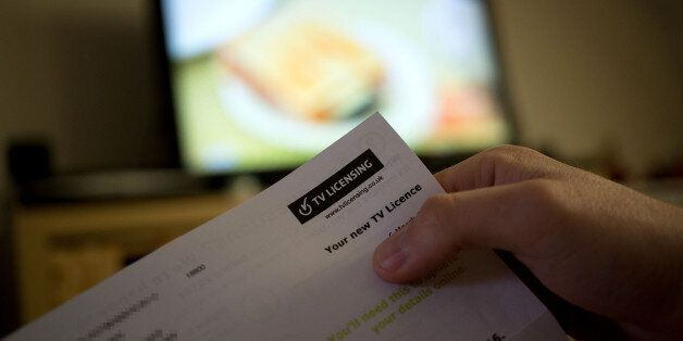 EDS NOTE ADDRESS HAS BEEN PIXELATED BY PA PICTURE DESK A TV licence as a review of the penalties for...