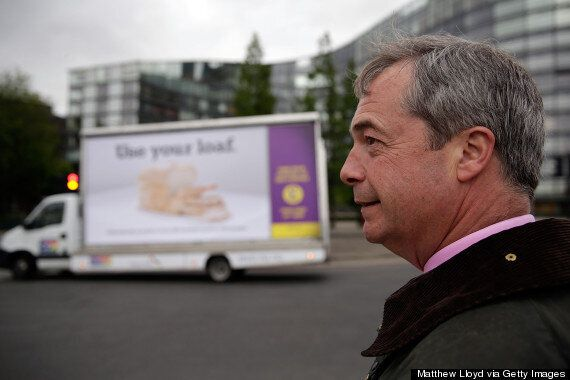 Nigel Farage Was 'Tired Out' When He Made 'Romanian Neighbours', As Ukip Takes Out Full-Page Telegraph