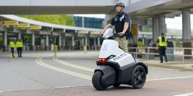 Segway Tricycle: Is This The Police Car Of The