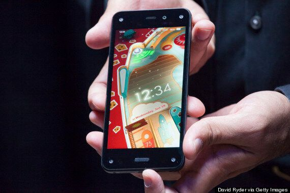 Amazon Fire Phone: 3D Screen And A Camera That Can Recognise