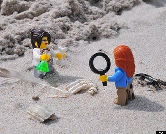 Lego's Female Scientists 'Research Institute' Set Attacked For 'Sexist' Waist