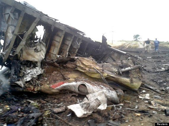 Malaysia Airlines Flight MH17 'Shot Down In Ukraine Near Russian