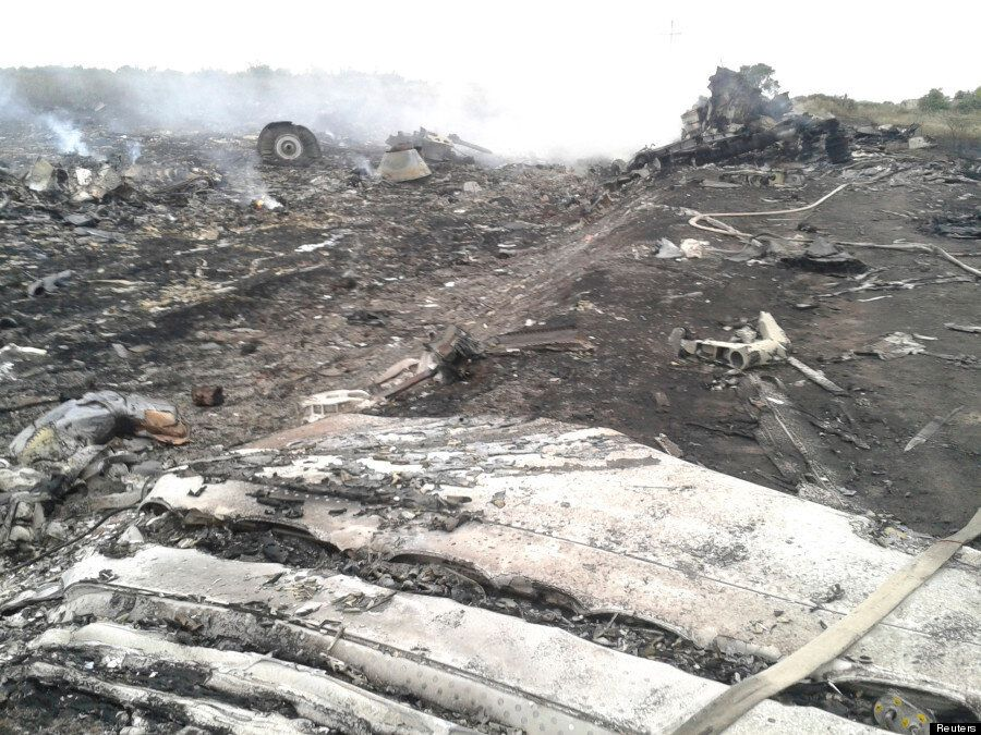 Malaysia Airlines Flight MH17 Crash Site Revealed In First Graphic