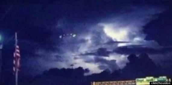 'Mass UFO Sighting' In Houston 'Probably Something Else' Says Sensible
