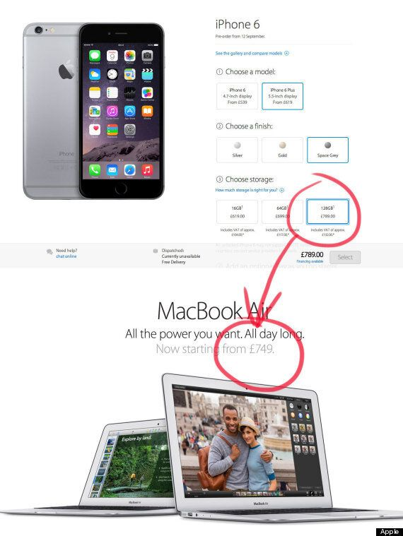 Apple iPhone 6 Plus Is More Expensive Than A Macbook