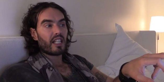 Russell Brand Hits Back At John Lydon After Being Called A 'Bum