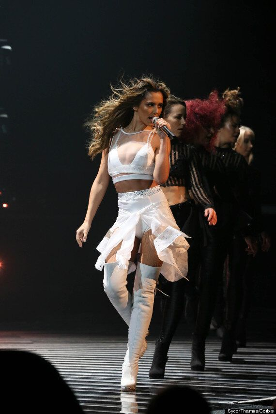 'X Factor': Cheryl Fernandez-Versini 'Suffers Nip-Slip' And Is Accused Of Miming During Performance Of...
