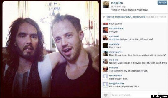 Russell Brand Urged By Fans To Denounce 'Pick-Up Artist' Julien