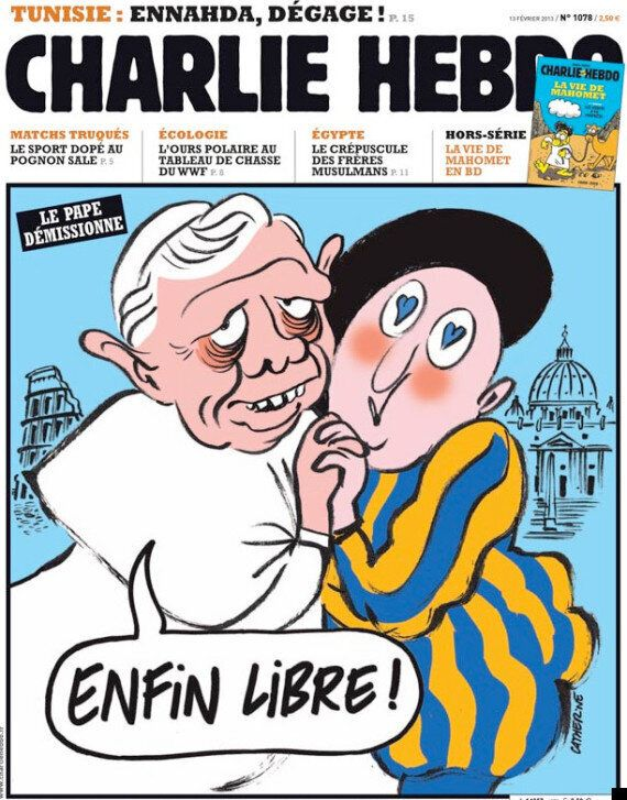 Charlie Hebdo Poked Fun At Popes And Presidents Too, Not Just