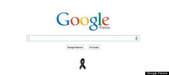 Charlie Hebdo: Google France Displays Black Ribbon On Home Page As Country Mourns 12