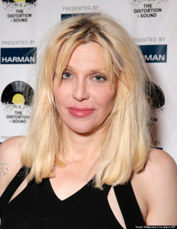 Courtney Love Admits To Using Heroin While Pregnant With Daughter Frances