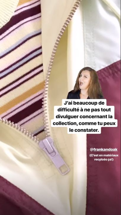 Sarah-Jeanne Labrosse sort une collection de vêtements avec Frank And