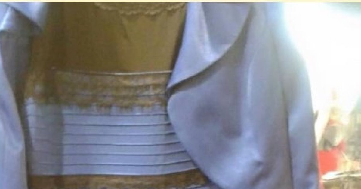 White And Gold Dress Or Blue And Black Dress The Internet