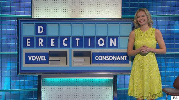 'Countdown': Rachel Riley Holds It Together (Just) As 'Erection'... Erm... Comes Up As An