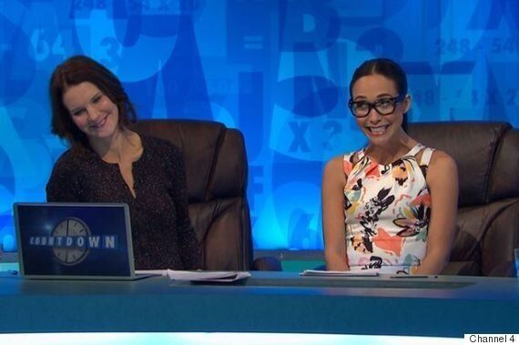 Myleene Klass Turns The 'Countdown' Board Blue With Sweary Eight-Letter Word During Appearance On Channel...