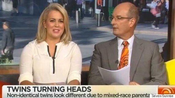 Samantha Armytage Apologises For 'Racist' Comment When Introducing Mixed Race Twins Maria and Lucy