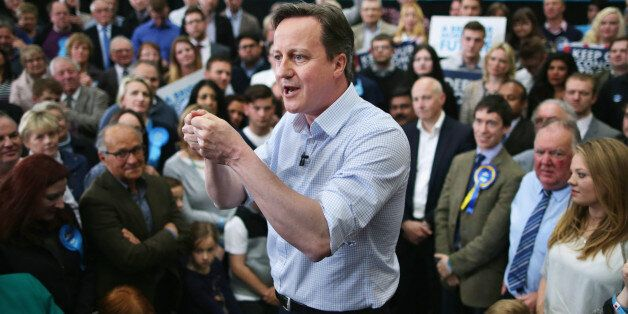 CARLISLE, UNITED KINGDOM - MAY 06: Calling this an election that will define a generation, Prime Minister...