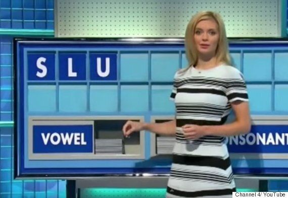 Countdown's Rachel Riley Spells Out