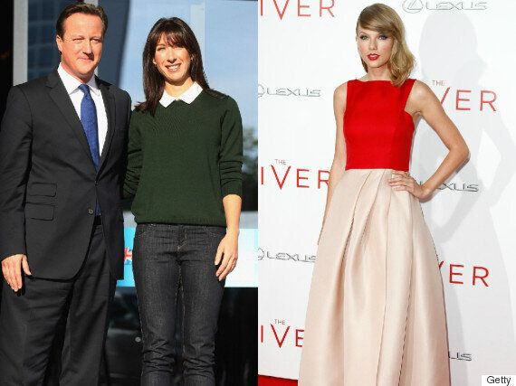 Taylor Swift vs Samantha Cameron: Pop Star Beaten In Vanity Fair's Best Dressed