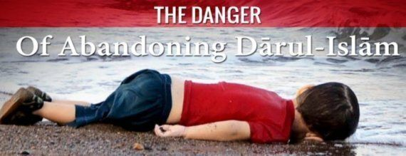 Islamic State Use Image Of Drowned Toddler Alan Kurdi To Warn Against Leaving The 'House Of